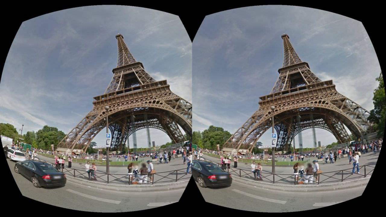Virtual field trips in VR