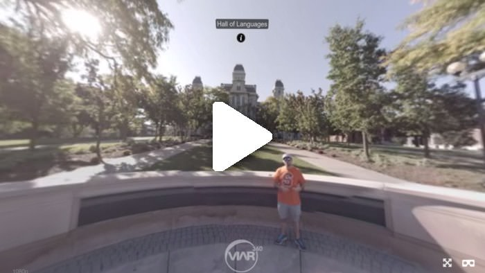Using hotspots to create an engaging virtual reality experience