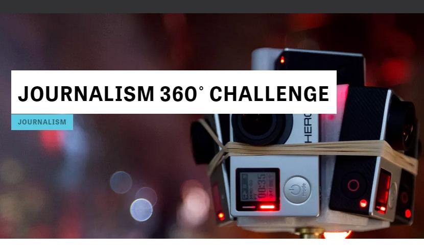 Journalism 360 challenge