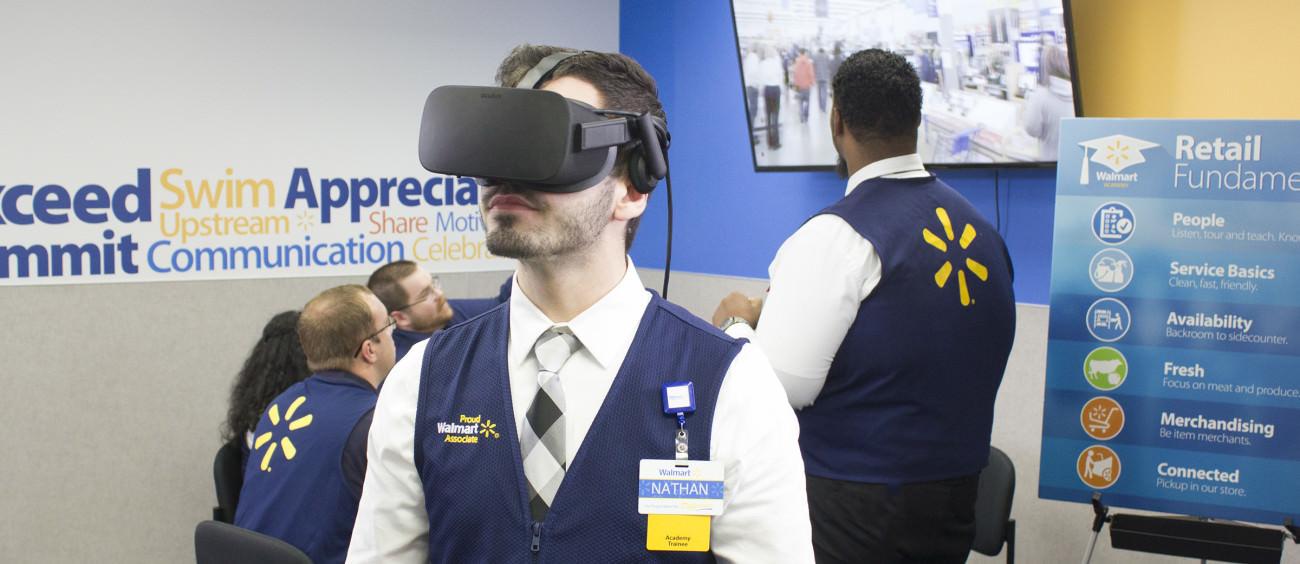 Walmart VR Training - Viar360