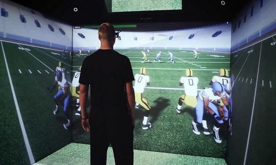 NFL is using VR for sports training