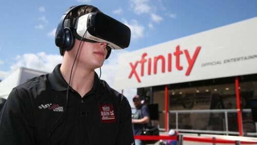 NASCAR is also using VR