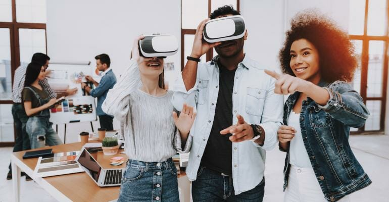 Using virtual reality in your workplace