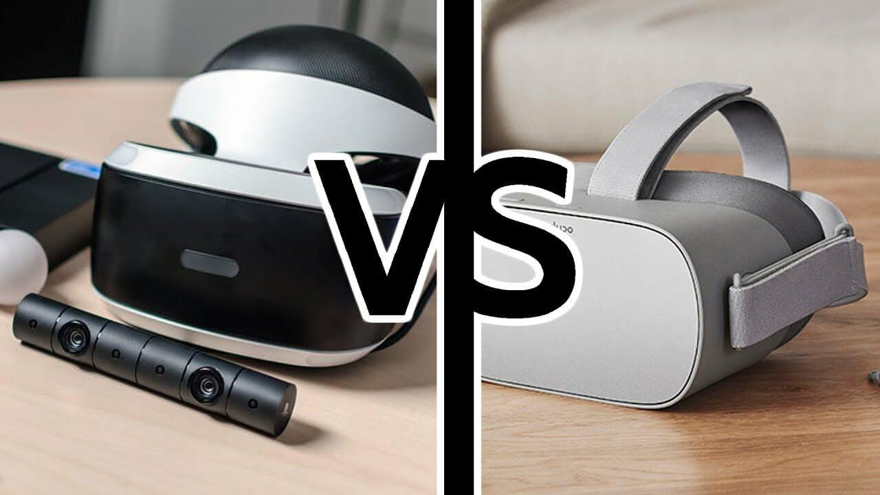 Playstation VR vs. Oculus GO