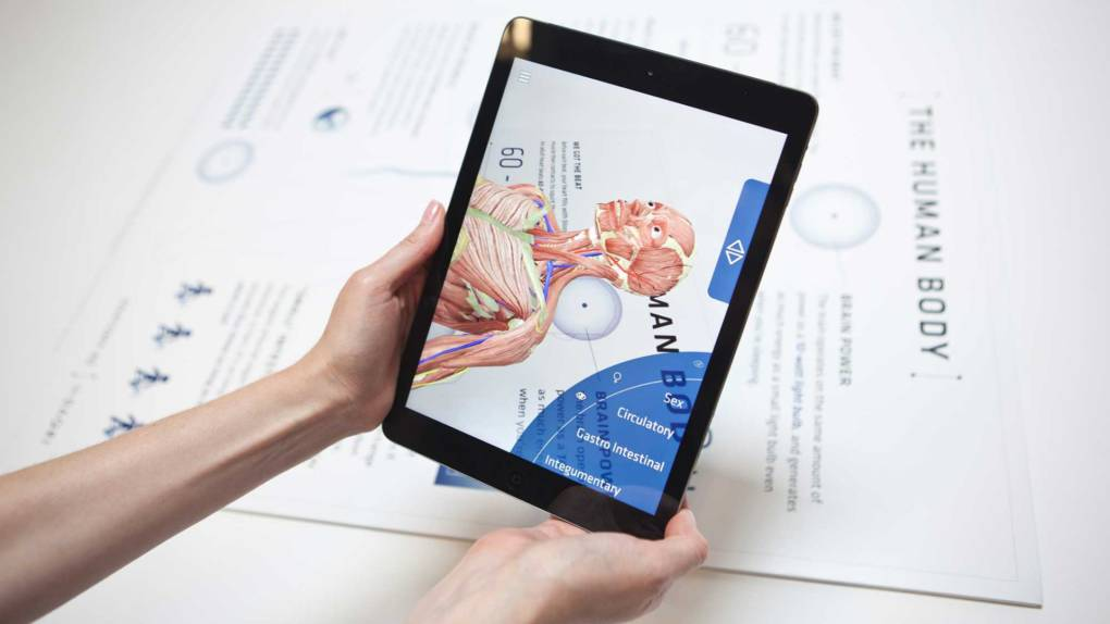 Using AR for blended learning