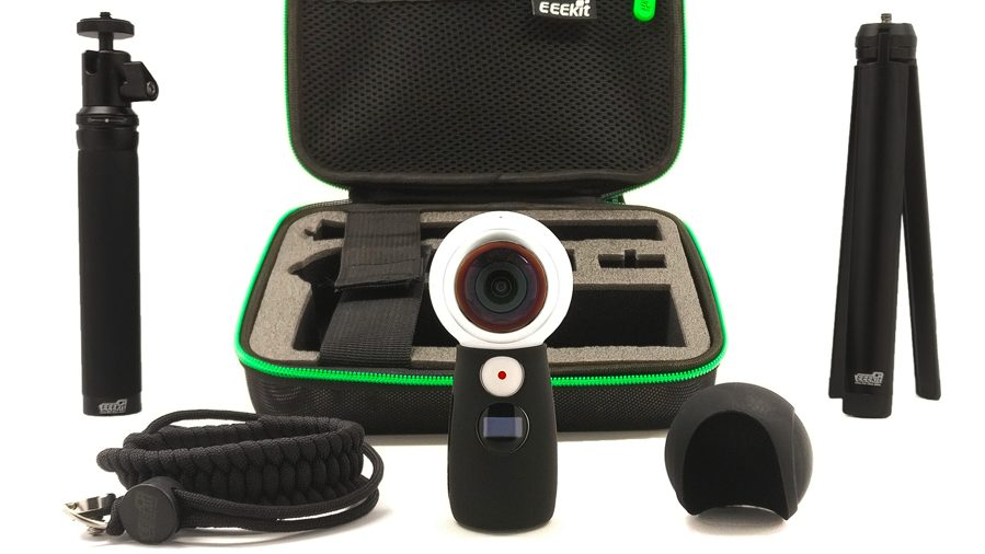 VR accessories and a 360 camera for business use