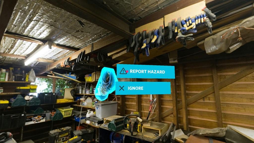 Using virtual reality for hazardous on-the-job training