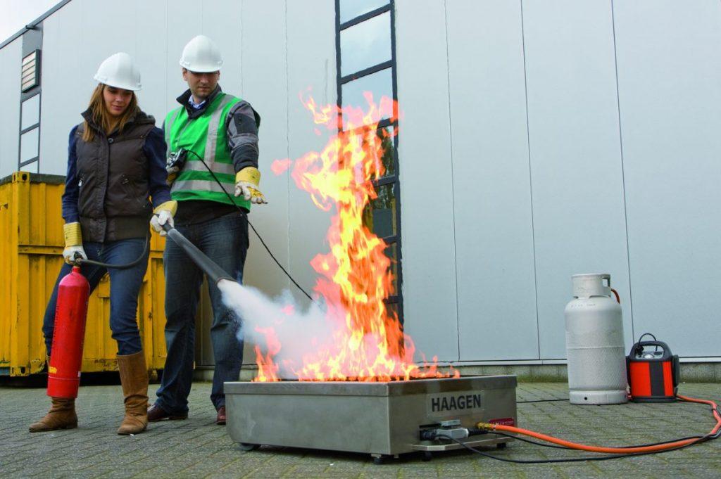 OSHA training on fire safety