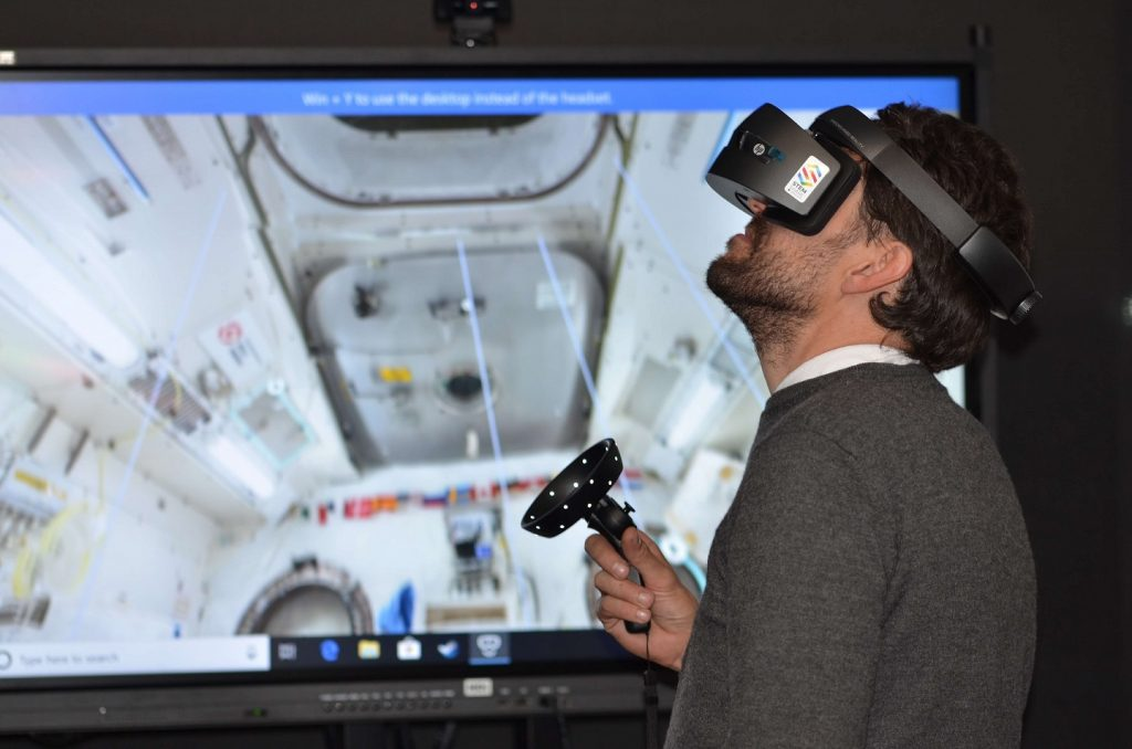 Virtual reality is one of ways how learning is going through digital transformation