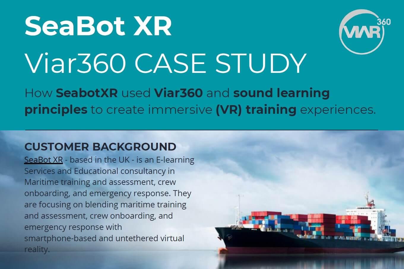 SeaBot XR Case Study