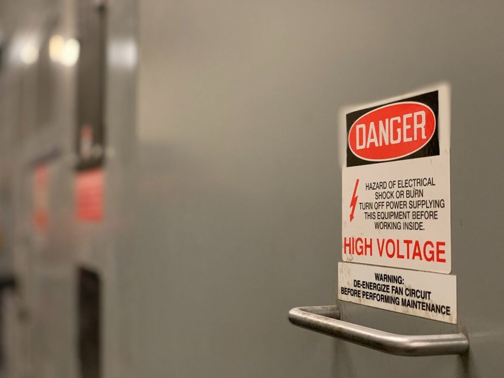 A high voltage safety training