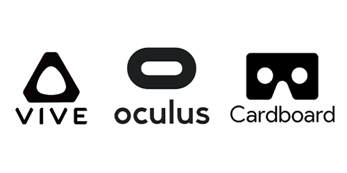 Vive, Oculus, Cardboard